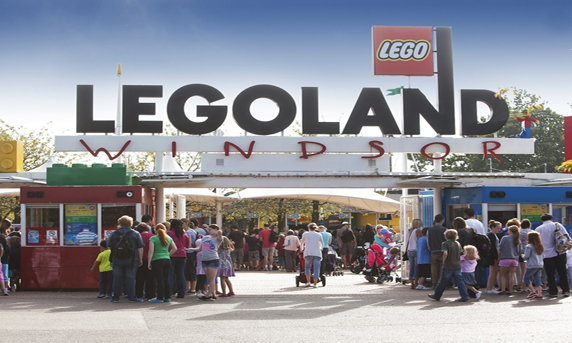 Amerc can drive you to Legoland Windsor or any other theme park