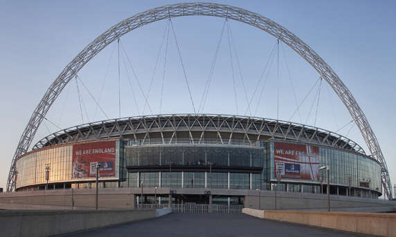 Arrive at Wembley Stadium London in style with Amerc