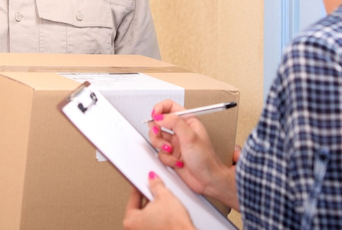Use our courier to deliver your important documents and parcels